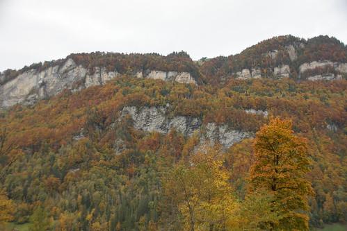 Herbstfarben im Glarnerland