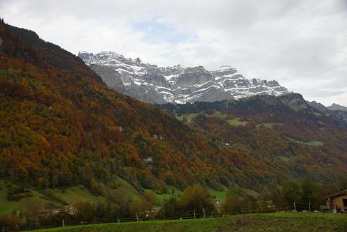 Der Herbst wird im Glarnerland sichtbar