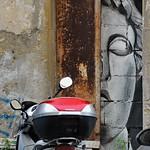 Murale di Carlos Atoche;  Via G.B.Riccioli  Pigneto - https://www.flickr.com/people/82911286@N03/