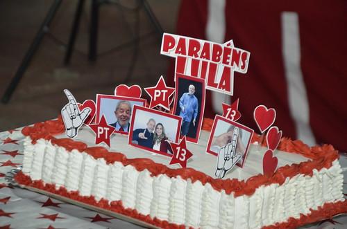 Aniversário de 75 anos de Lula