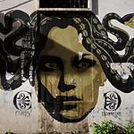 Murale di Diamond;  Via Filippo Scolari Pigneto - https://www.flickr.com/people/82911286@N03/