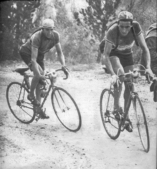 16° tappa Giro 1949 - Coppi e Bartali