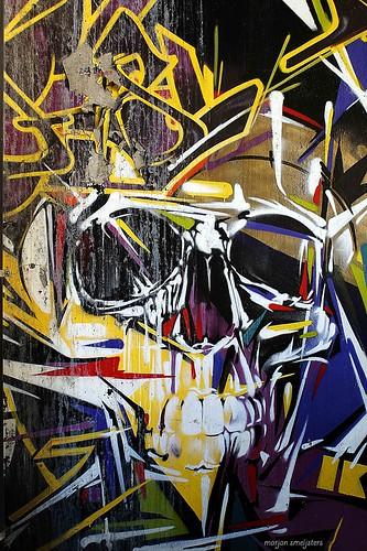 HAPPY HALLOWEEN, Street Art, Ghent, Belgium