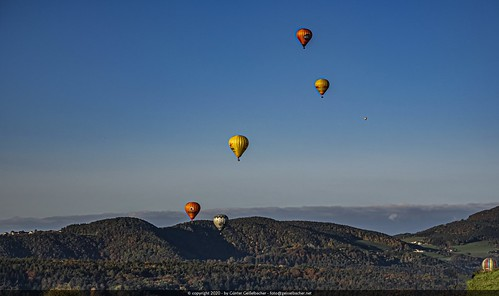 Ballooning in Eastern Styria