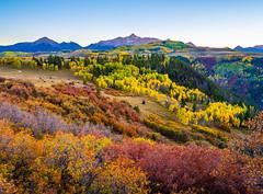 Last Dollar Road Wilson Peak Colorado Mountains Autumn Colors Fall Foliage Fine Art Landscape Nature Photography Fuji GFX 100 Autumn Aspens! Elliot McGucken 45EPIC Master Medium Format Photographer Fujifilm GFX100 & Fujinon GF Mount Lens!