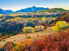HDR Last Dollar Road Wilson Peak Colorado Mountains Autumn Colors Fall Foliage Fine Art Landscape Nature Photography Fuji GFX 100 Autumn Aspens! Elliot McGucken 45EPIC Master Medium Format Photographer Fujifilm GFX100 & Fujinon GF Mount Lens!