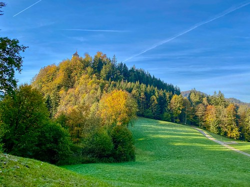 Thierberg mountain in autumn in Tyrol, Austria