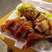 Roast duck and pork