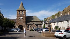 Eglise d'Apchon. Cantal.