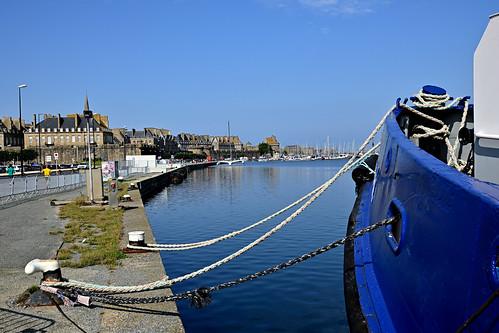 Saint-Malo / On the dock