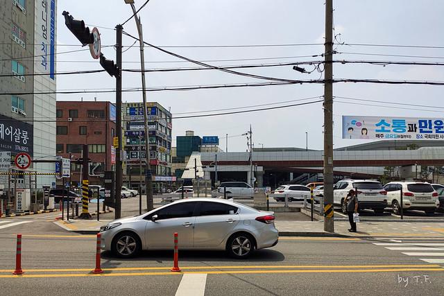 오산역 앞