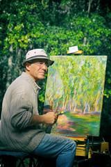 Rencontre du peintre Claude Abdy - Photo of Montussan