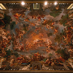Plafond de la salle Mariano Rossi, Galerie Borghese, Rome, 2020 - https://www.flickr.com/people/29248605@N07/