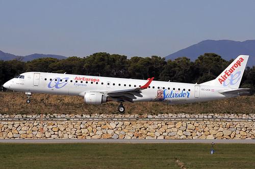 Air Europa (Salvador Bahia) ERJ-190-200LR EC-LKX GRO 18/10/2020