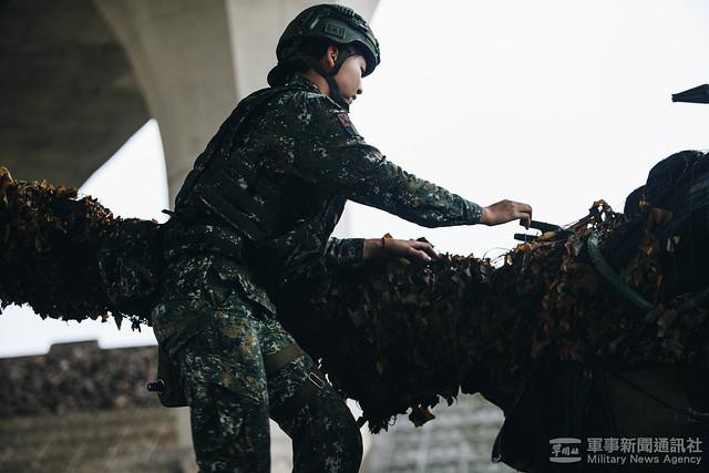 戰備訓練週蘭指部戰車營M60A3戰車機動、彈藥整補20201029