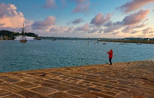Saint-Malo - Bretagne / The Fisherman