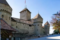 Château de Chillon castle in south Switzerland