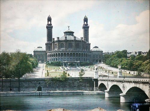 """""""Le palais du Trocadéro"""" en 1914 à Paris (Cité de l'architecture & du patrimoine, Paris)"""