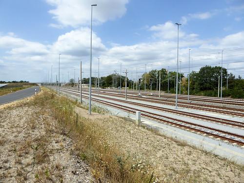 Bahnhof Horka 2018 nach dem Umbau