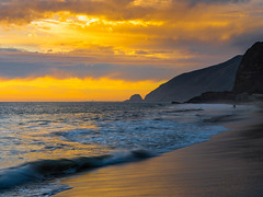 Malibu Beach Sunset Fuji GFX 100 Zen Tao Fine Art Landscape Photography! Point Mugu Coastline Sycamore State Beach Southern California Ocean Art! Fine Art Seascape Nature! Elliot McGucken Master Medium Format Photographer Fujifilm GFX100 & Fujinon Lens!