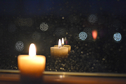 silent mention by candlelight