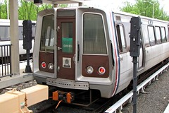 WMATA railcar 1165 at Branch Avenue rail yard [01]