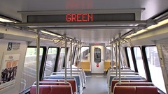 Interior of WMATA railcar 6105 [03]