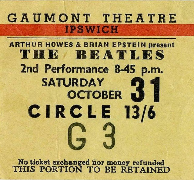 Photo:64-1031-01 - The Beatles - Gaumont, Ipswich (2C-G3) By Bradford Timeline