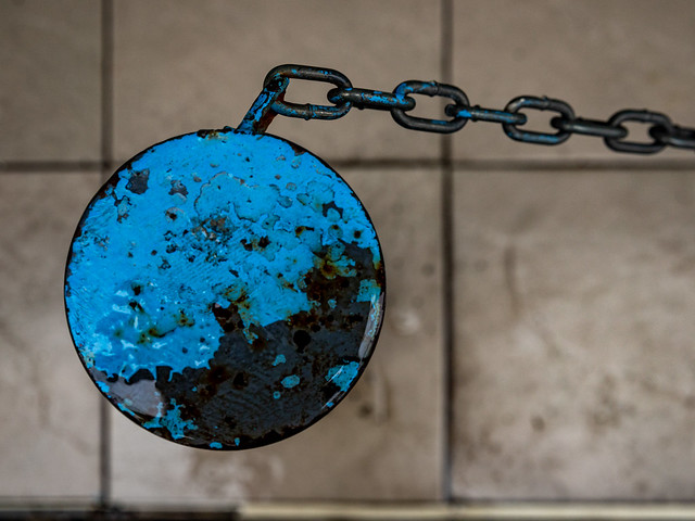 Blue and Chain
