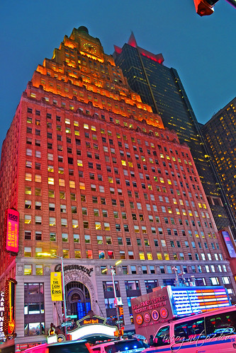 Paramount Building Times Square Midtown Manhattan New York City NY P00701 DSC_2004