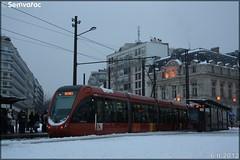 Alstom Citadis – Setram (Société d'Économie Mixte des TRansports en commun de l'Agglomération Mancelle) n°1016 (Wilbur Wright)