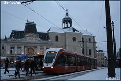 Alstom Citadis – Setram (Société d'Économie Mixte des TRansports en commun de l'Agglomération Mancelle) n°1010 (24 Heures du Mans)