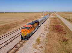 BNSF 6022 (ES44AC) Train:O-TOPMEM 02  Fogleman, Arkansas