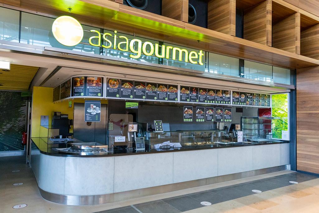 Asiagourmet - Asiatische Gastronomie am Flughafen BER - Terminal 1. Wegen Corona nicht aktiv