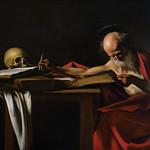 Saint Jérôme écrivant, Le Caravage, Galerie Borghese, Rome, 2020 - https://www.flickr.com/people/29248605@N07/