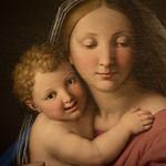Vierge à l'Enfant, Sassoferrato, Galerie Borghese, Rome, 2020 - https://www.flickr.com/people/29248605@N07/