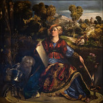 Circé la magicienne ou Melissa, Dosso Dossi, Galerie Borghese, Rome, 2020 - https://www.flickr.com/people/29248605@N07/