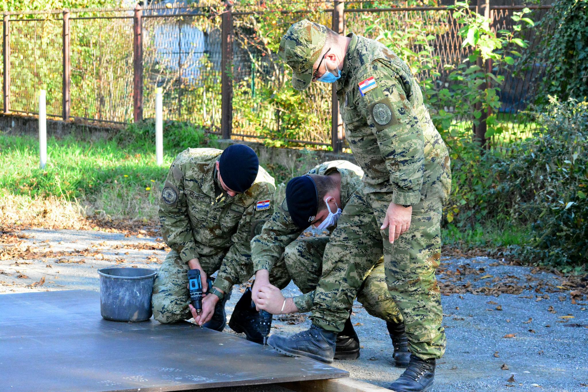 Hrvatska vojska postavila šatore u Varaždinu