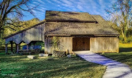 Caleb Crosby Threshing Barn