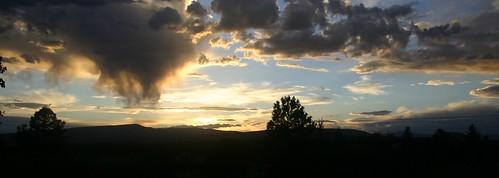 Virga at Sunset