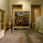 Restauration de La Déposition de croix, Raphaël, Galerie Borghese, Rome, 2020 - https://www.flickr.com/people/29248605@N07/