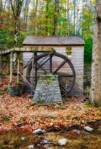 Waterwheel at the Rice Grist Mill