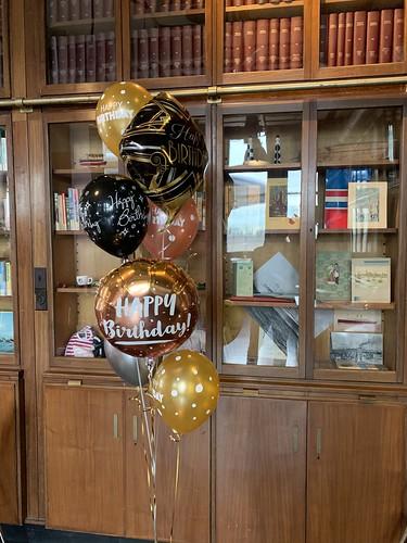 Ballonboeket Verjaardag Hotel New York Rotterdam