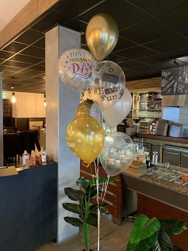 Ballonboeket Verjaardag Restaurant Konyali Rotterdam