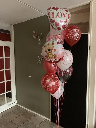 Ballonboeket Liefde