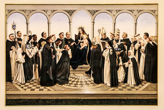 Photo:All Saints of the Order of Preachers By Lawrence OP