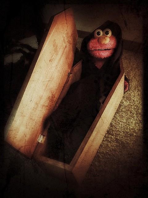 Crypt keeper Elmo
