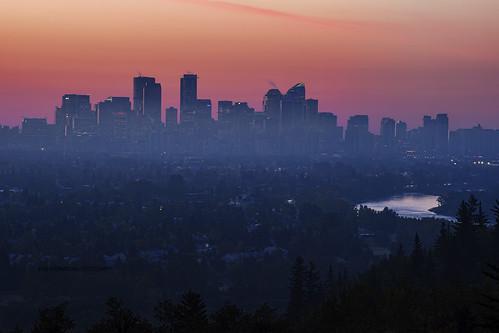 Calgary in the Morning