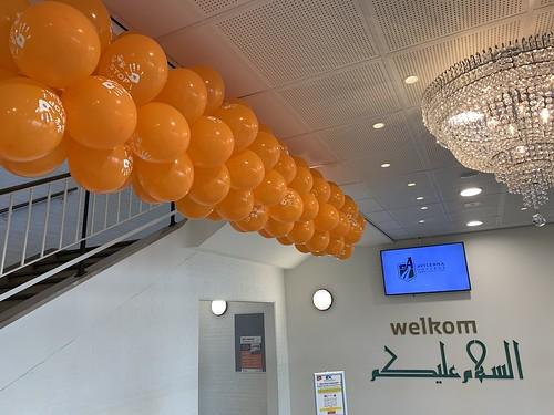 Ballonslinger Bedrukt Stop Pesten Nu Avicenna College Rotterdam