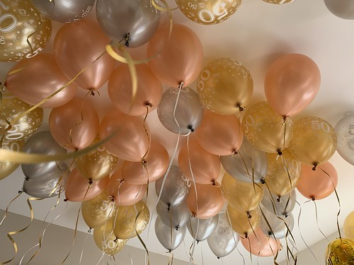 Heliumballonnen Verjaardag 50 Jaar Abraham Sarah
